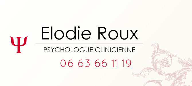 Psychologue Paris 13 : Elodie Roux