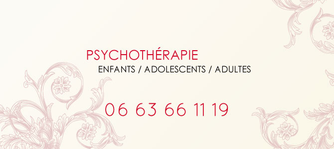 Psychotherapie enfants, adolescents et adultes